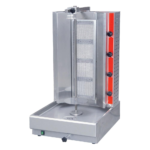 Cookline 4G Gas Vertical Gyro Shawarma Broiler, 120 lb. - 50,000 BTU