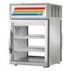 "True GDM-05PT-S-HC~TSL01 24"" Countertop Refrigerator w/ Pass Thru Access - Swing Door, Stainless, 115v"